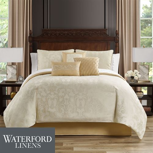 Bridget Comforter Bed Set Ecru