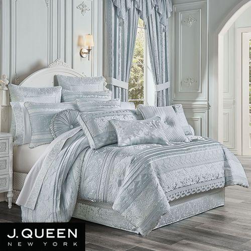 Riverside Comforter Set Aqua Mist