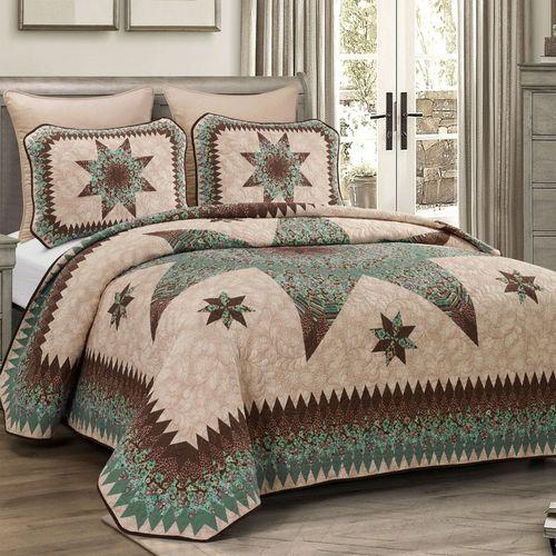 Sea Breeze Star Mini Quilt Set Multi Warm
