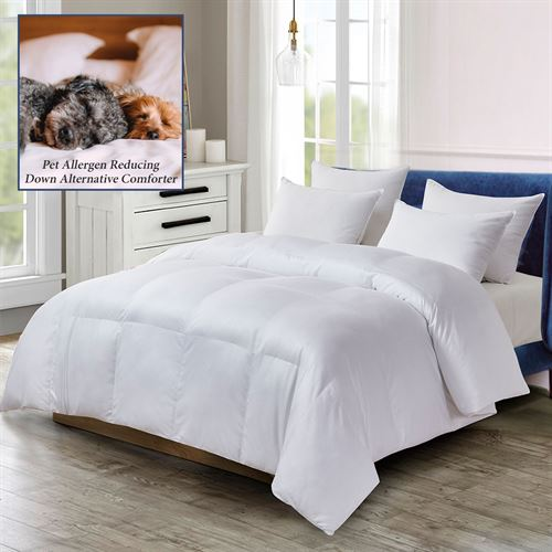 Pet Agree Down Alternative Comforter White