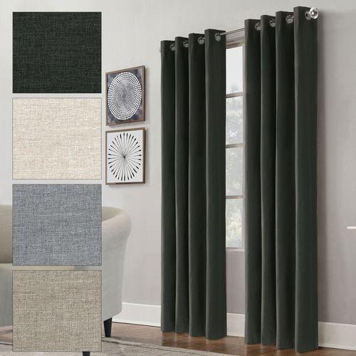 Barretti Grommet Curtain Panel