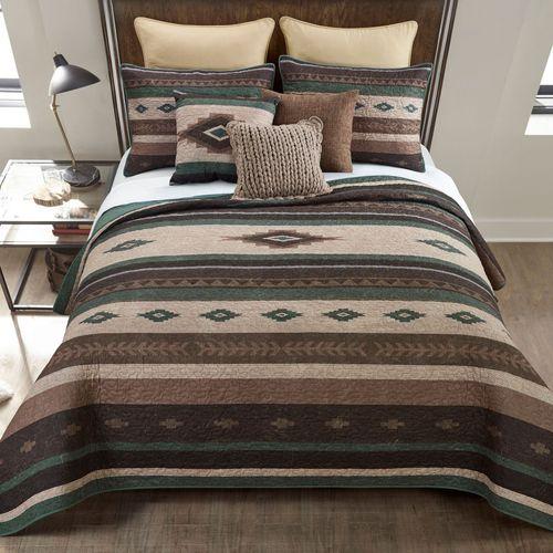 Sierra Vista Mini Quilt Set Multi Warm