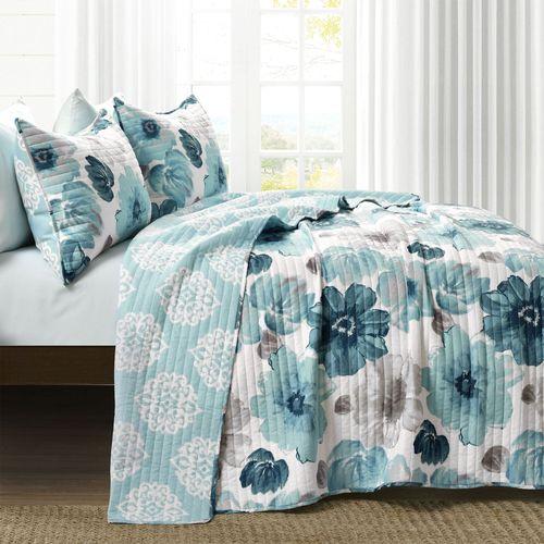 Mia Mini Quilt Set Light Blue