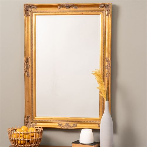 Angelina Wall Mirror Antique Gold