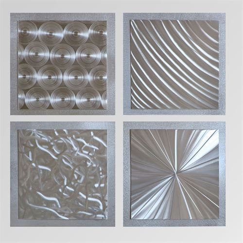 Silver Seasons Wall Art Set of Four