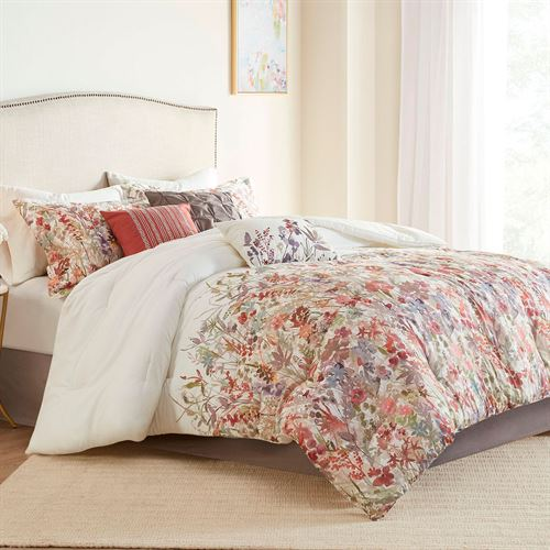 Mariana Comforter Bed Set Multi Warm