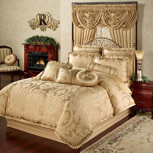 Corsica Comforter Set Gold