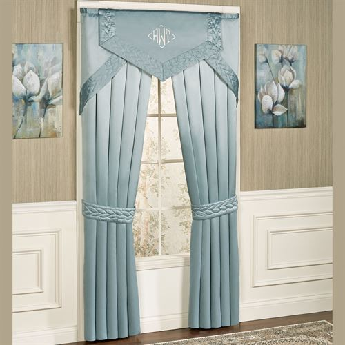 Silk Allure Cornice Valance Window Treatment