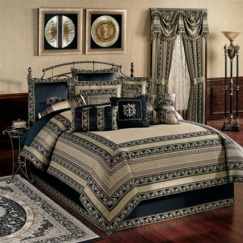 Fontainebleau Comforter Set Taupe