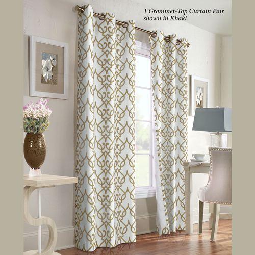 Allegra Grommet Curtain Pair