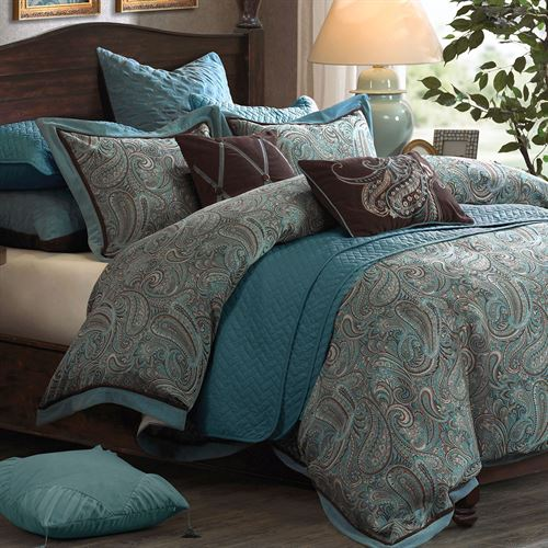Lauren Comforter Bed Set Multi Warm