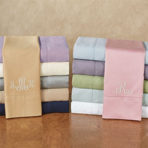 Hem Stitch Sheet Set