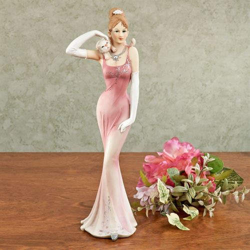 Sweet Rest Lady Figurine Pink