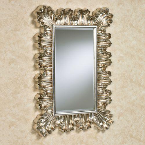 Lavish Luxury Wall Mirror Platinum