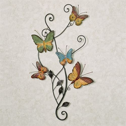 Dancing Butterflies Metal Wall Accent