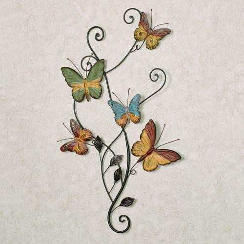 Dancing Butterflies Metal Wall Accent