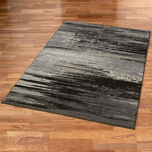 Stormy Skies Rectangle Rug Pewter