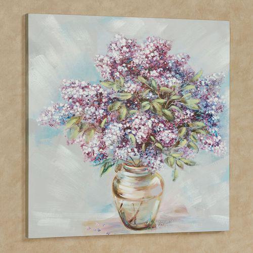 Sweet Surprises Floral Canvas Wall Art Multi Pastel