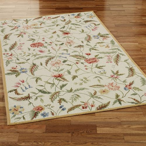 Springtime Views Rectangle Rug