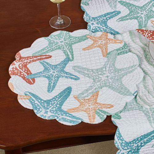 Kalani Table Runner Multi Pastel 14 x 51