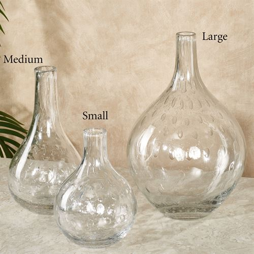 Coastal Flare Vase Clear