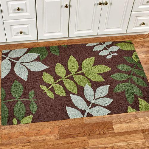 Natures Floor Rug Brown 34 x 54
