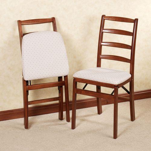 Wimbledon Folding Chair Pair  Set of Two