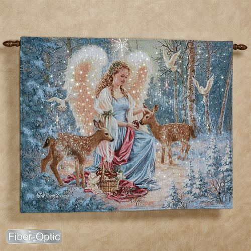 Oh Holy Night Wall Tapestry Multi Warm