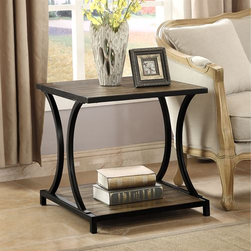Carter Chairside Table Black