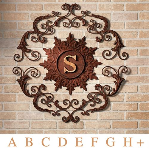 Kingston Monogram Wall Grille Brown Gold