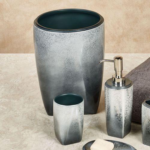 Landon Ombre Bath Accessories. Landon Lotion Soap Dispenser Steel Blue