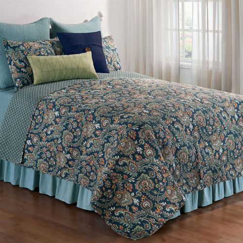 Middleton Quilt Dark Blue