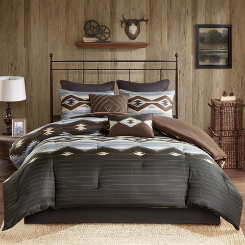 Bitter Creek Comforter Bed Set Multi Warm