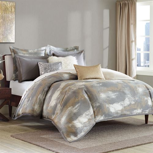 Graphix Comforter Bed Set Dark Gray