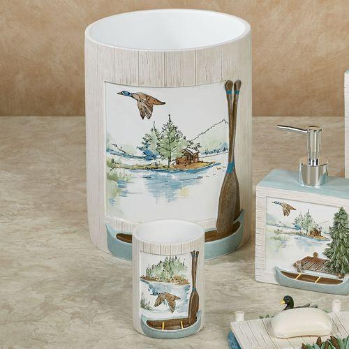 Lake House Lotion Soap Dispenser Multi Cool