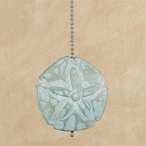 Fan Pull Chain Ornaments Enchanting Sand Dollar Coastal Ceiling Fan Pull Chain Ornament
