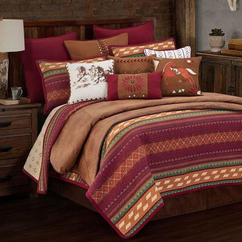 Solace Mini Quilt Set Multi Warm