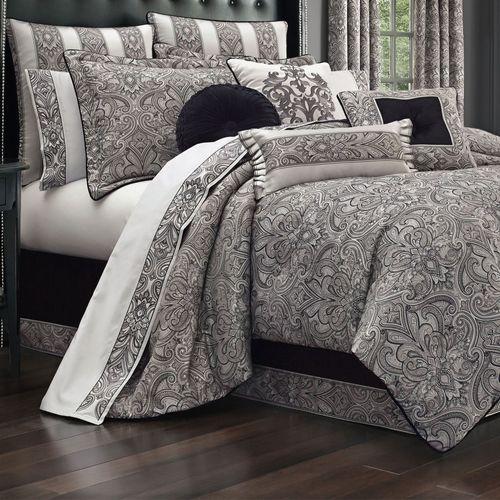 Chancellor Comforter Set Silver