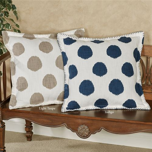 Dot Decorative Pillow 20 Square