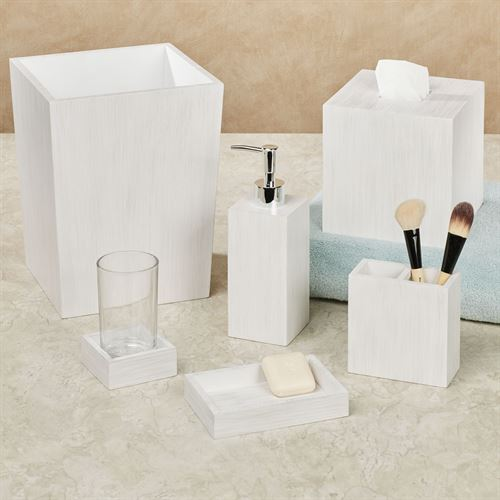 Beach House Lotion Soap Dispenser Off White