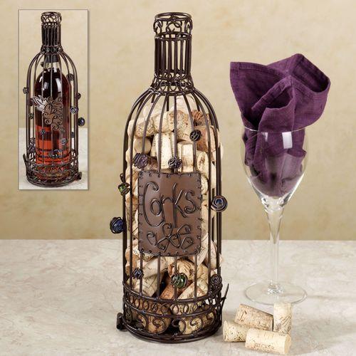 Wine Bottle Cork Cage(R)
