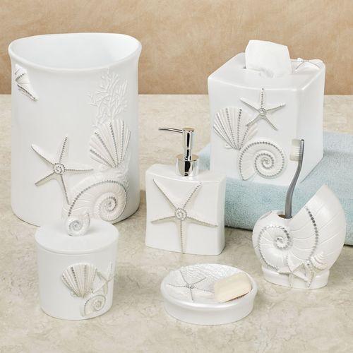 Seaview Lotion Soap Dispenser Ivory