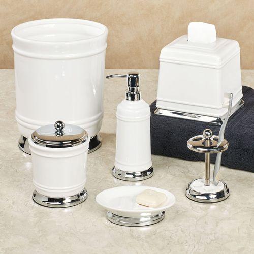 Isabella Lotion Soap Dispenser Off White