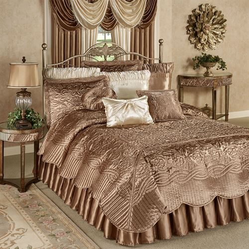 Prima Coverlet Set Smoky Topaz
