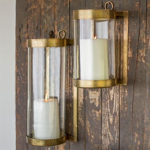 Crosset Wall Sconce Gold