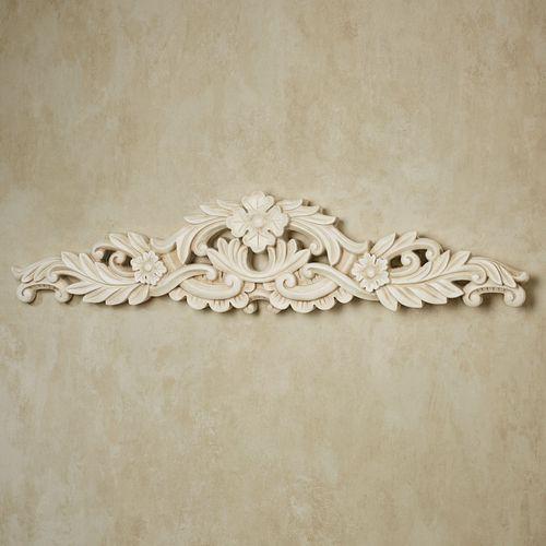 Viviana Decorative Wall Topper Antique Ivory