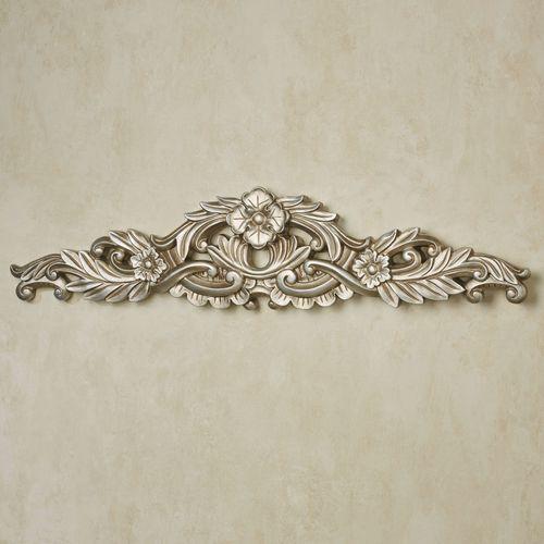Valensia Decorative Wall Topper Platinum