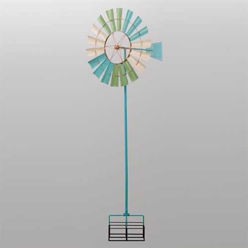 Coastal Windmill Wind Spinner Multi Cool