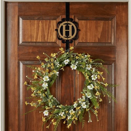 Sun Kissed Floral Wreath Yellow