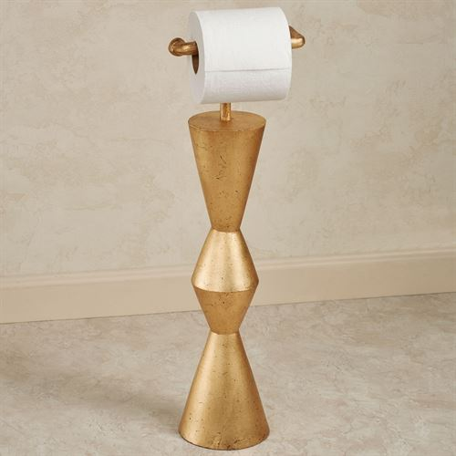 Mod Toilet Paper Stand Gold